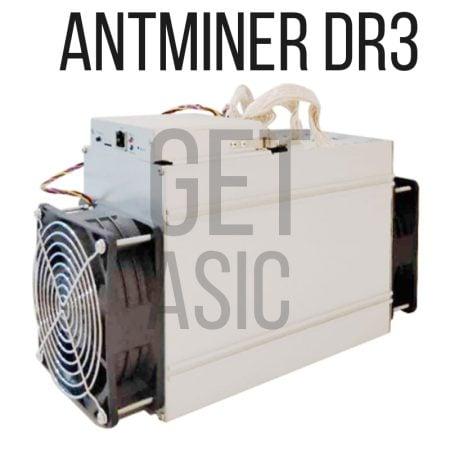 асик майнер Antminer DR3