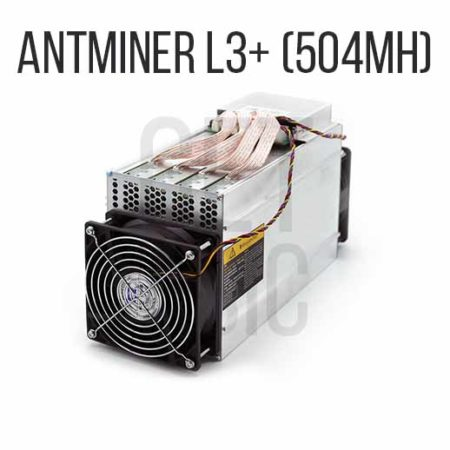 Antminer L3+ (504Mh)