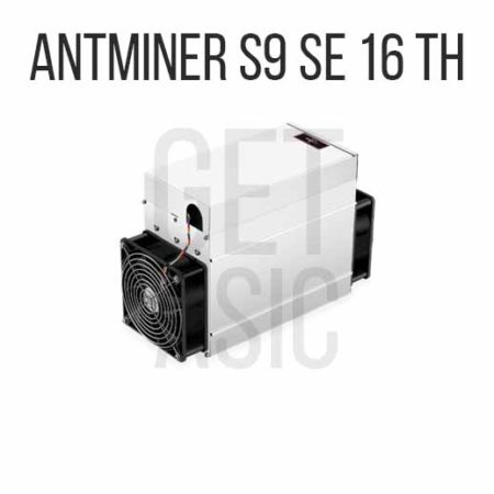 Antminer S9 SE 16 TH