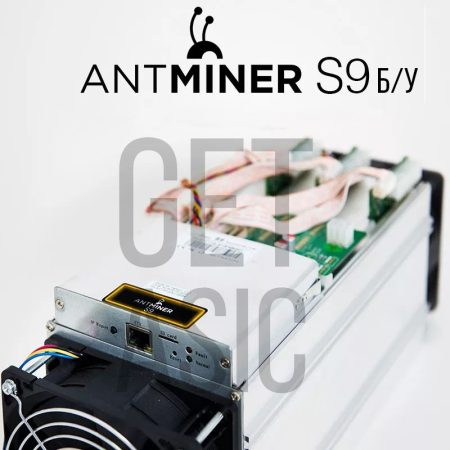 Antminer S9 14 TH с ОБП б/у