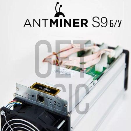 Antminer S9 бу асик из Китая
