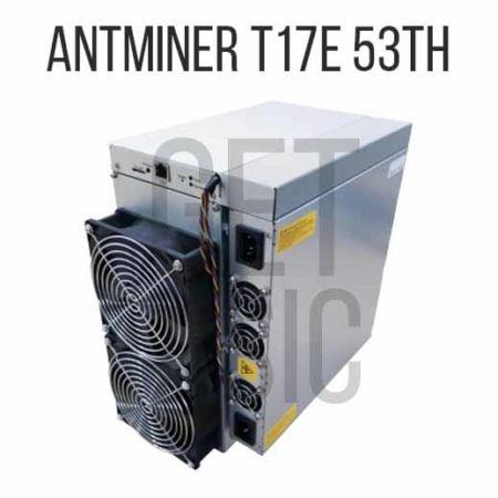 Antminer T17E 53TH