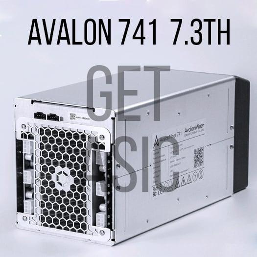 Купить Avalon 741 7,3 TH