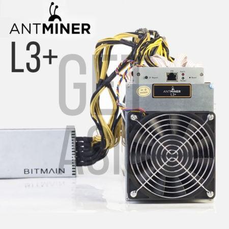 Купить майнерn Antminer L3+ в КИтае