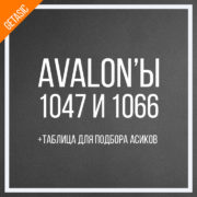 Oblozhka avalon 1047 и avalon 1066 от canaan таблица майнинг