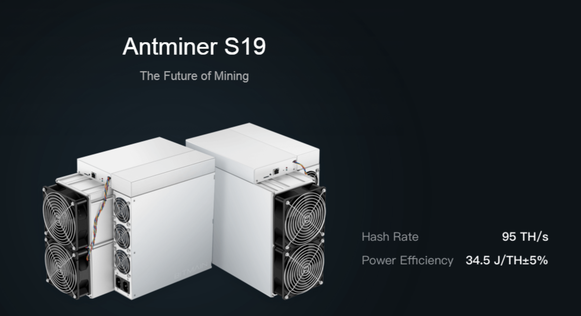 Купить Antminer S19 Bitmain асик