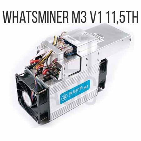 Whatsminer M3 V1 11.5ТН (б/у)