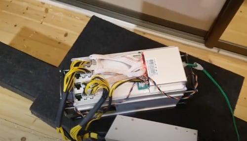 Монтаж изоляционной камеры для asic майнера